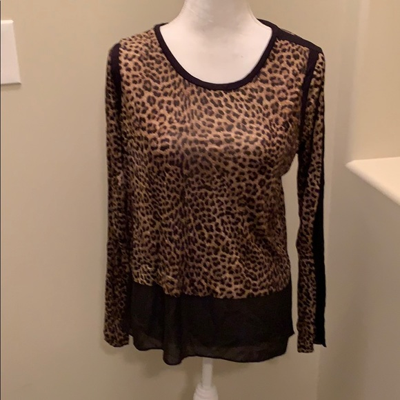 Michael Kors Tops - Leopard print top